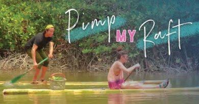 Die Philippinen im Video - Bambusflöße bauen mit dem Stamm der Tagbanu