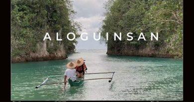 Die Philippinen im Video - Ausflug zum Bojo Fluss