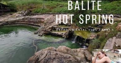 Die Philippinen im Video - Davao Oriental: Balite Hot Spring in Baganga