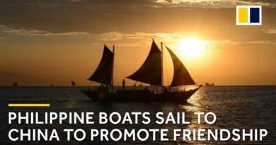 Die Philippinen im Video - 3 philippinische Boote segeln von Manila nach Xiamen