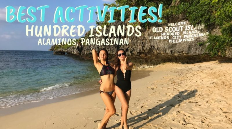Die Philippinen im Video - Hundred Islands Alaminos