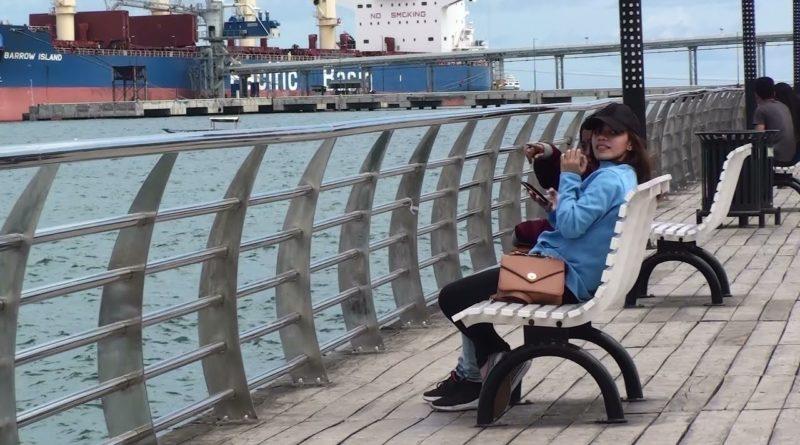 Die Philippinen im Video - Auf dem Boardwalk in Naga