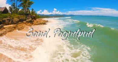 Die Philippinen im Video - Am weißen Strand von Saud