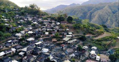 Wir besuchten ein abgelegenes Dorf in Tinglayan