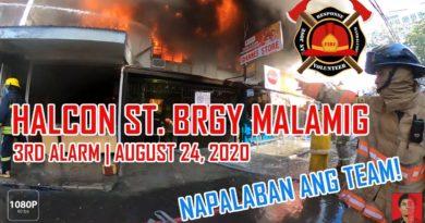 Die Philippinen im Video - Freiwillige Feuerwehr bei der Brandbekämpfung