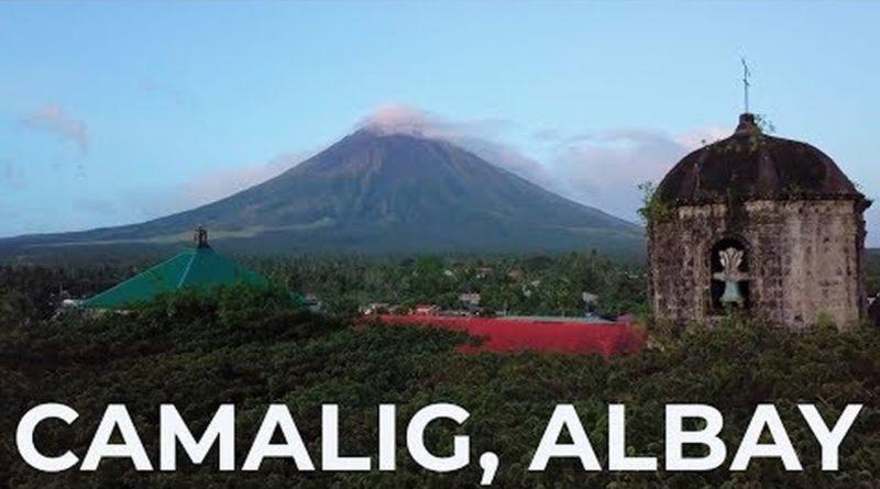 Die Philippinen im Video - Drohnenaufnahmen von Camlig in Albay