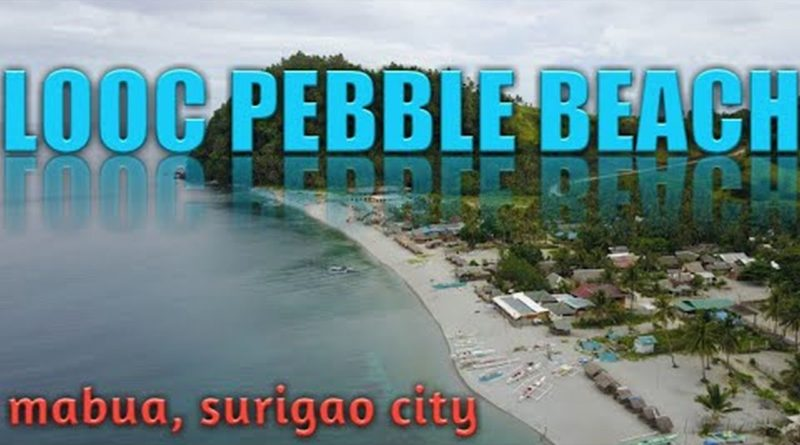 Die Philippinen im Video - Am berühmten Looc Kieselstrand von Mabua