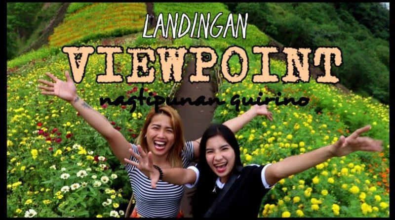 Die Philippinen im Video - Landingan Aussichtspunkt in Nagtipunan
