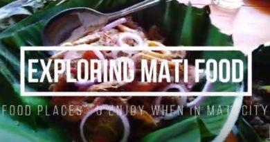 Die Philippinen im Video - Speisen in Mati