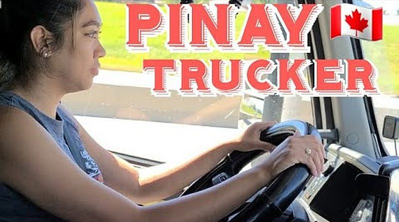 Die Philippinen im Video - Pinay Trucker in Alberta
