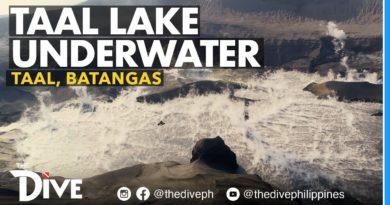 Die Philippinen im Video - Die Situation auf dem Grund des Taal Sees nach dem Vulkanausbruch