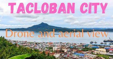 Die Philippinen im Video - Tacloban City mit der Drohne