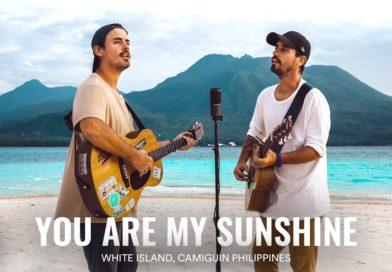 Die Philippinen im Video - Musikvideo - You are my Sunshine auf White Island in Camiguin