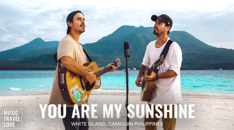 Die Philippinen im Video - Musikvideo - You are my Sunshine auf White Island in Camiguin