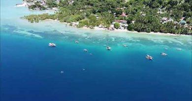 Die Philippinen im Video - Der Küstenort Malabuyoc auf der Insel Cebu