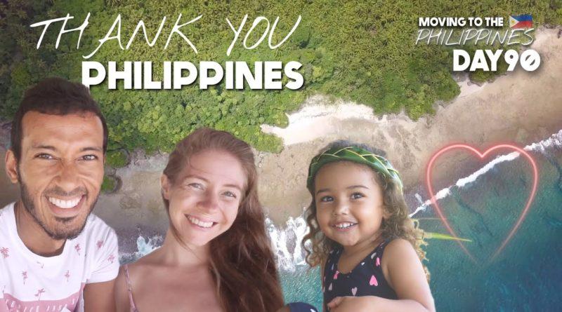 Die Philippinen im Video - Vielen Dank PHILIPPINES Britische Familie SO GRATEFUL für philippinischen Empfang