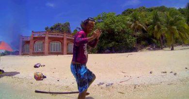 Die Philippinen im Video - Schnorcheln am Riff von Natangko