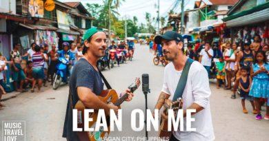"""Die Philippinen im Video - """"Lean on me"""" auf der Straße in Iligan gesungen"""