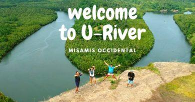 Die Philippinen im Video - Der ikonische U-Fluss in Baliangao