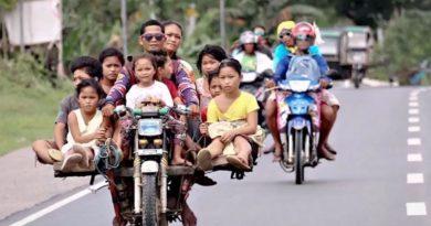 Die Philippinen im Video - Unglaubliche Motorradtaxen auf den Philippinen