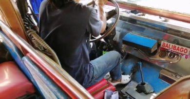 Die Philippinen im Video - Erstaunliche Schalttechnik eines Jeepney-Fahrers