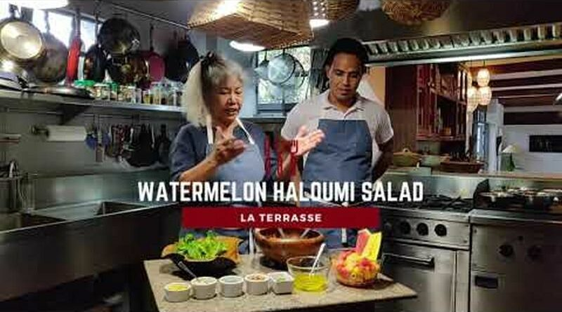 Die Philippinen im Video - Wassermelonen-Haloumi-Salat