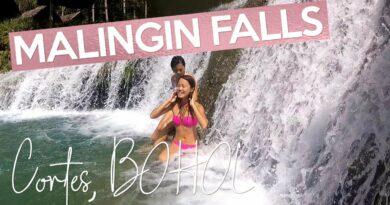 Die Philippinen im Video - Ausflug zu den Malingin Wasserfällen in Cortes