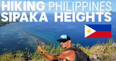 Die Philippinen im Video - Wanderung auf den Gipfel der Insel Sipaka