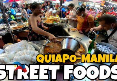 Die Philippinen im Video - Streetfood in Quiapo