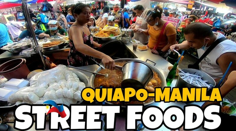 Die Philippinen im Video - Streetfood in Quiapo
