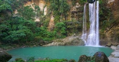 Die Philippinen im Video - Camugao Wasserfall in Balilihan