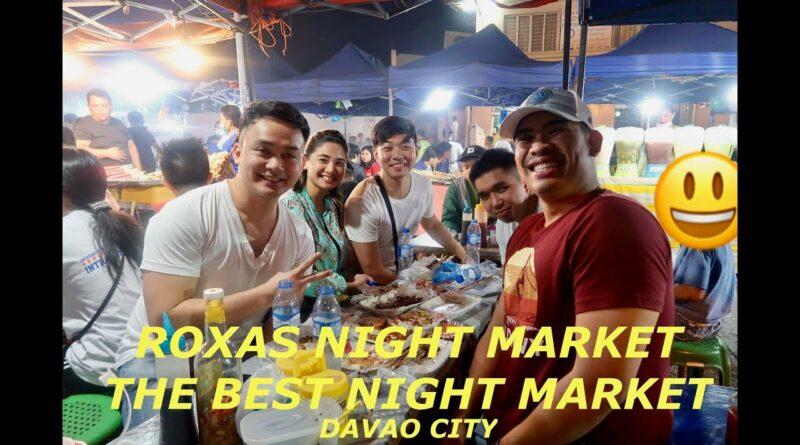 Die Philippinen im Video - Roxas Nachtmarkt in Davao