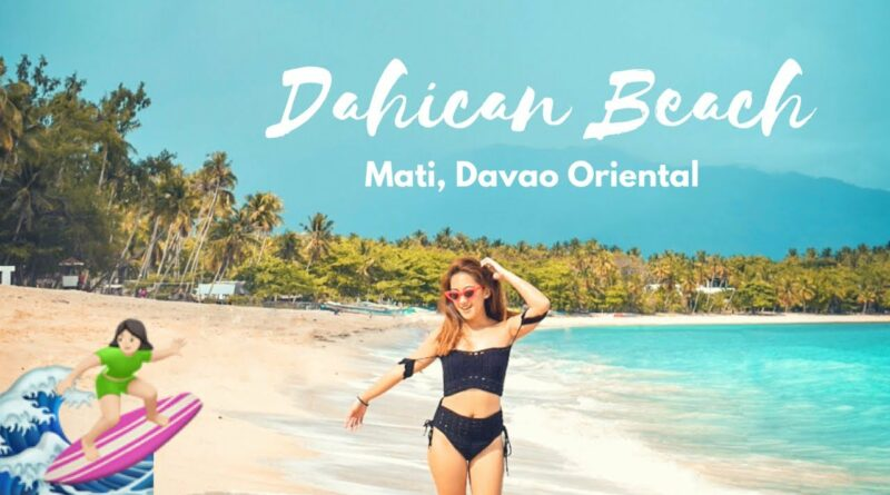 Die Philippinen im Video - Dahican Beach in Mati