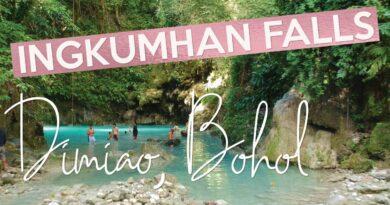 Die Philippinen im Video - An den Ingkumhan Wasserfällen in Dimiao