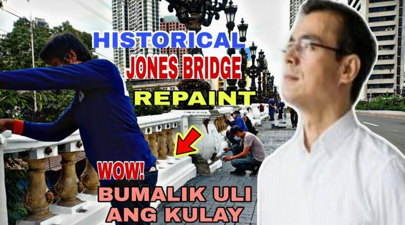 Die Philippinen im Video - Die historische Jones Brücke wird neugestrichen