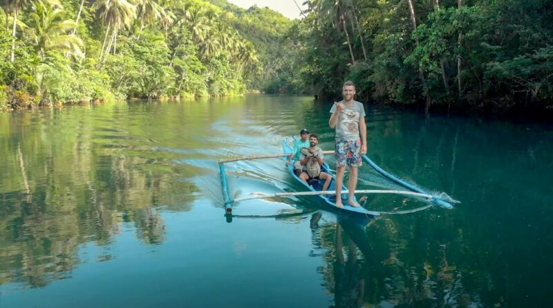 Die Philippinen im Video - Erkundung des Loboc Flusses