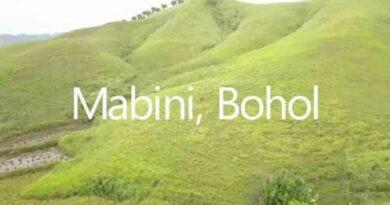 Die Philippinen im Video - Landschaften von Mabini auf Bohol