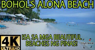 Die Philippinen im Video - Spaziergang am Alona Beach auf Panglao
