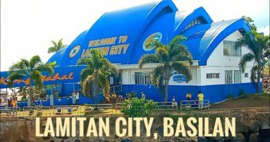 Die Philippinen im Video - Die Stadt Lamitan auf Basila