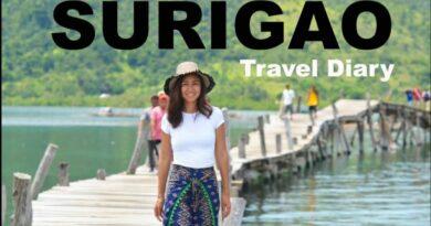 Die Philippinen im Video - Reisetagebuch: Cagwait, enchanted river, Lianga in Surigao