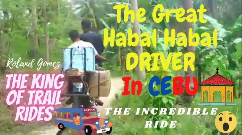 Die Philippinen im Video - Der großartige Habal-Habal-Fahrer von Cebu