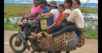 Die Philippinen im Video - Billige und lustige Personentransportmöglichkeiten