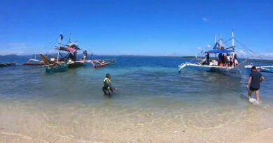 Die Philippinen im Video - Hagonoy Island in Bislig