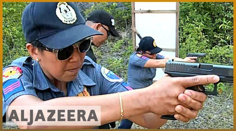 Die Philippinen im Video - Philippinischer Ort Maria auf Siquijor ersetzt alle männlichen Polizisten durch Frauen