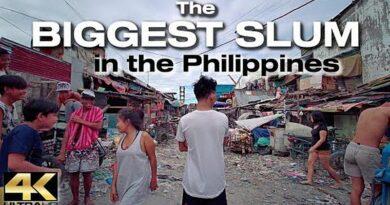 Die Philippinen im Video - Gang durch die Slums von Happyland in Tondo