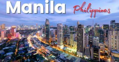 Die Philippinen im Video - Manila City Tour mit der Drohne