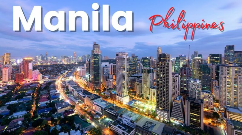 Die Philippinen im Video - Manila City Tour mit der Drohne