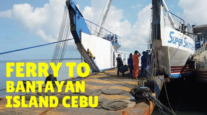 Die Philippinen im Video - Mit der Roro-Fähre von Hagnaya zur Insel Bantayan