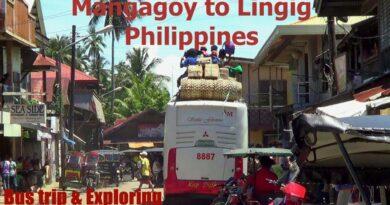 Die Philippinen im Video - Mit dem Bus von Mangagoy nach Lingig