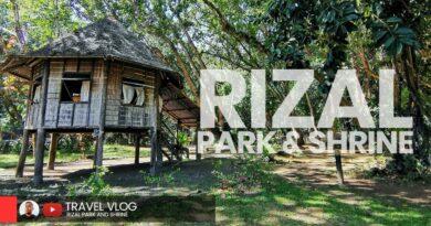 Die Philippinen im Video - Dr Jose Rizal Park & Gedenkstätte   Dapitan 2020